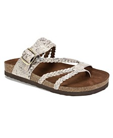 White Mountain Hayleigh Flat Sandals
