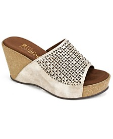 White Mountain Coventry Wedge Sandals
