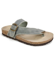 White Mountain Carly Flat Sandals