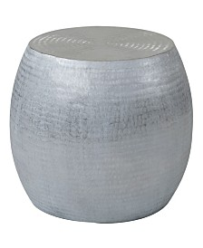 East At Main's Melrose Aluminum Accent Table