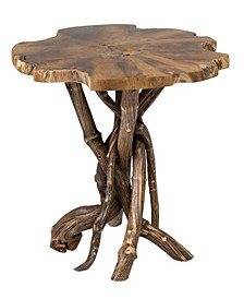 Dimitri Teak End Table