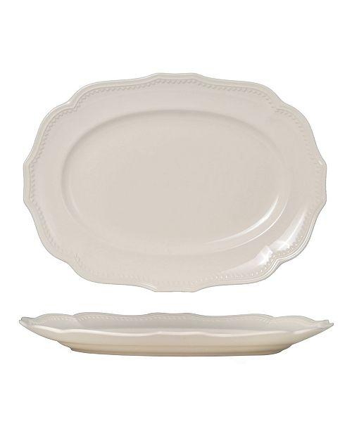 "Red Vanilla Classic 15"" Oval Platter"