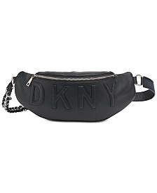 DKNY Irvington Leather Belt Bag, Created for Macy's
