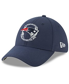 New Era Little Boys New England Patriots Draft 39THIRTY Stretch Fitted Cap
