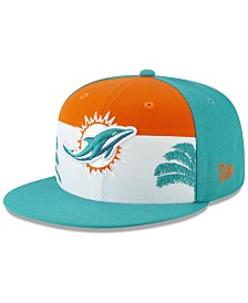 New Era Little Boys Miami Dolphins Draft 59FIFTY Fitted Cap