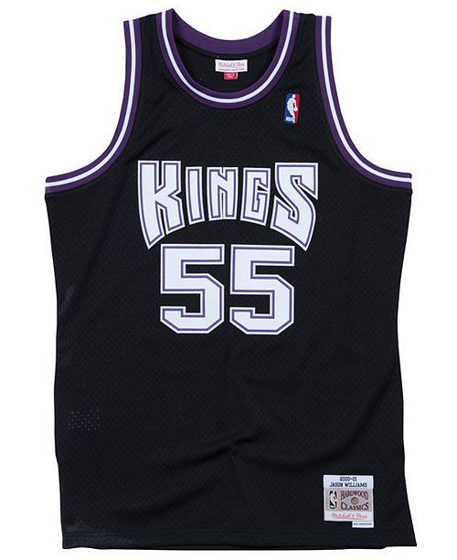 ab1623ceeb2 Mitchell   Ness Big Boys Jason Williams Sacramento Kings Hardwood Classic Swingman  Jersey ...