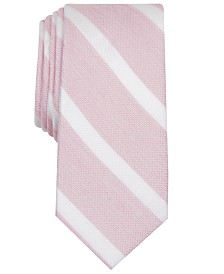 Bar III Men's Lovett Stripe Skinny Tie, Created for Macy's