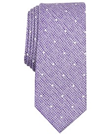 Bar III Men's Gregory Dot Skinny Tie, Created for Macy's