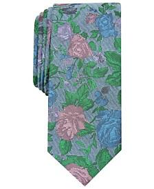 Bar III Men's Ellis Floral Skinny Tie, Created for Macy's