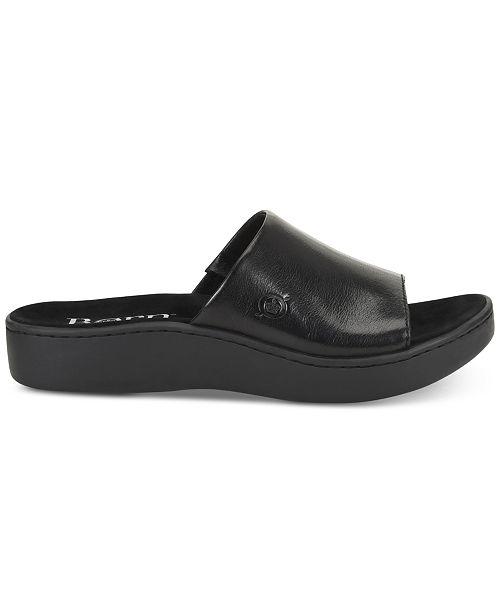 Born Sandales Noir platesAvis Chaussures Ottowa Tongs CxrBode