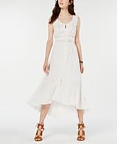 ac7eee82c American Rag Juniors' Crochet-Trim High-Low Maxi Dress, Created for Macy's
