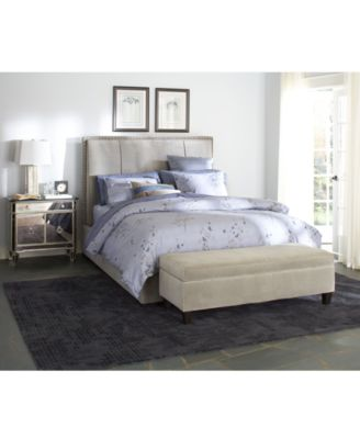 hannah bedroom furniture collection created for macyu0027s - Upholstered Queen Bed