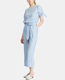 Lauren Ralph Lauren Lightweight Linen Jumpsuit