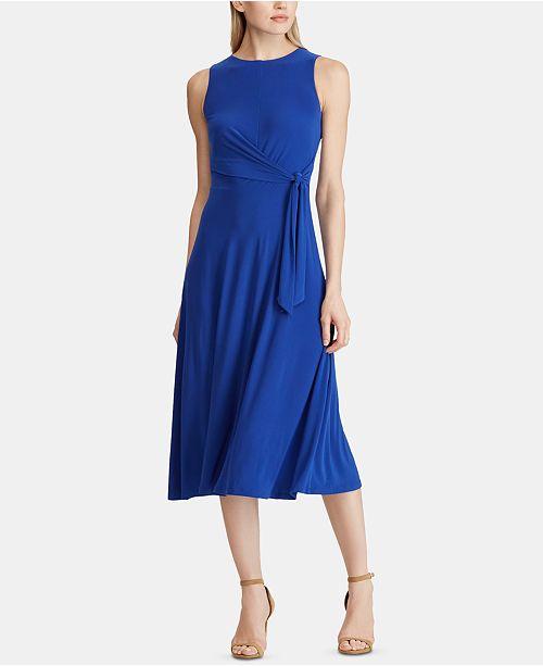 Lauren Ralph Lauren Twist Jersey Dress
