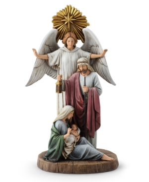 Napco Guardian Angel with Holy Family, Created for Macy's
