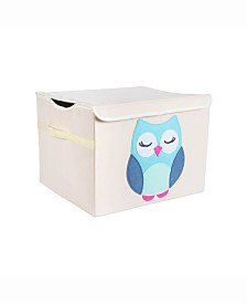 Design Import Kid Owl Toy Chest with Lid