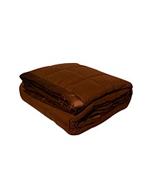 Solid Colored Microfiber Down Alternative King Blanket