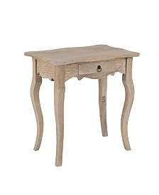 East At Main's Benton Rubberwood Accent Table