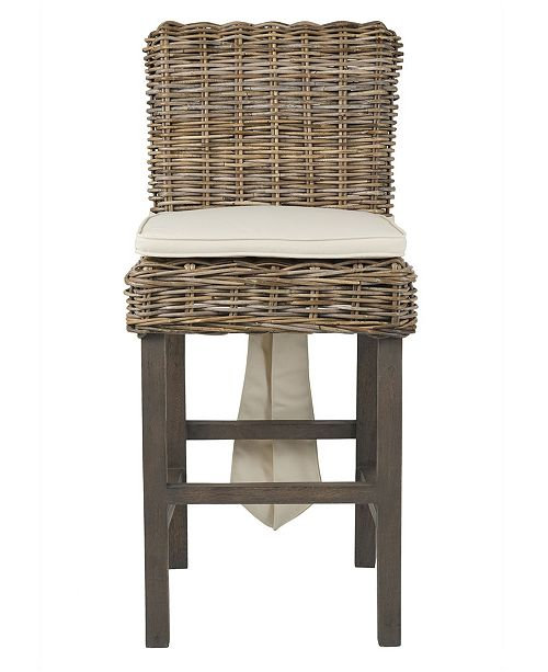 Awe Inspiring Dyer Rattan Counter Stool Squirreltailoven Fun Painted Chair Ideas Images Squirreltailovenorg