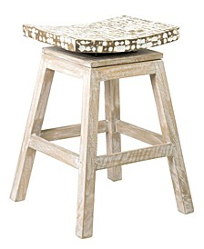 Lawson Coconut Chip Counter Stool