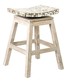 East At Main's Lawson Coconut Chip Counter Stool