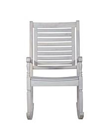 Patio Wood Rocking Chair