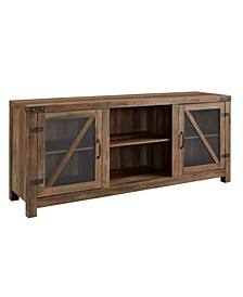 "58"" Rustic Farmhouse Tv Stand"