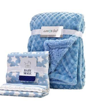 Image of 5 Piece Baby Blanket Gift Set
