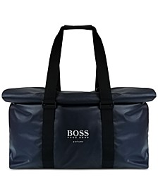 Receive a Complimentary Weekender Bag with any Large Spray purchase from the Boss Bottled Fragrance Collection