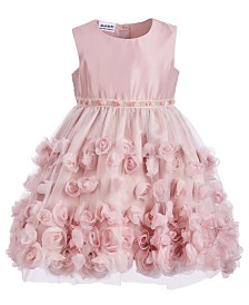 Blueberi Boulevard Toddler Girls Soutache Dress