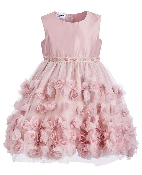 Blueberi Boulevard Little Girls Soutache Dress