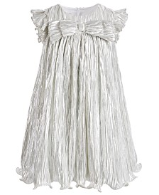 Bonnie Jean Toddler Girls Metallic Boudre Dress