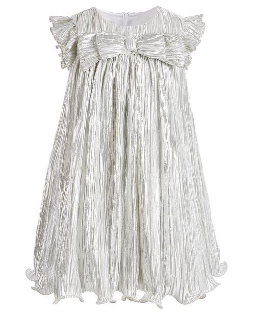 Bonnie Jean Little Girls Metallic Boudre Dress