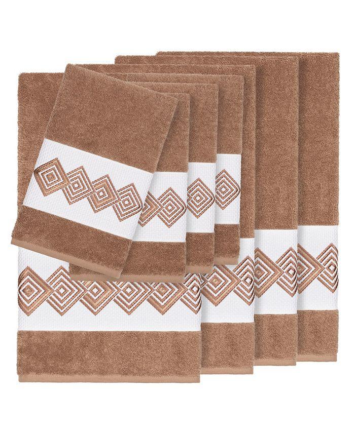 Linum Home - Turkish Cotton Noah 8-Pc. Embellished Towel Set