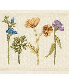 Turkish Cotton Serenity Embellished Washcloth