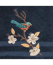 Linum Home Turkish Cotton Springtime Embellished Hand Towel