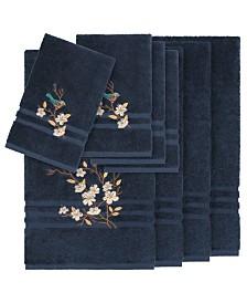Linum Home Turkish Cotton Springtime 8-Pc. Embellished Towel Set