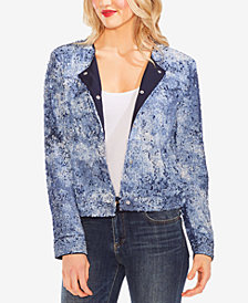 Vince Camuto Sequined Bomber Jacket