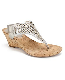 Arnette Wedge Sandals