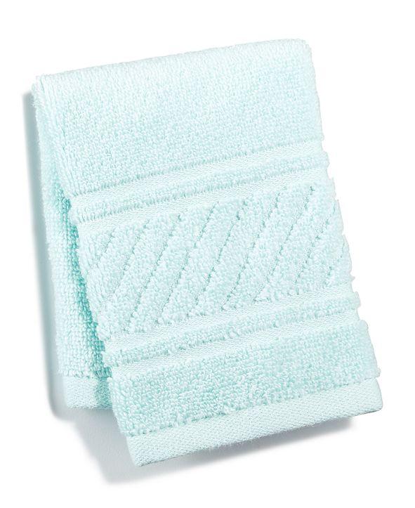 "Martha Stewart Collection 13"" x 13"" Spa Washcloth, Created for Macy's"