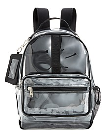 Amelia Clear Backpack With ID Case