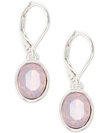 Anne Klein Stone Oval Drop Earrings