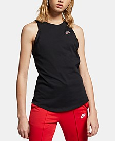 Women's Sportswear Cotton Racerback Tank Top