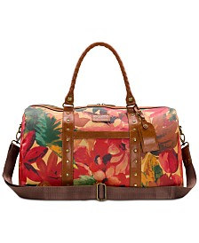 Patricia Nash Coated Canvas Milano Duffel