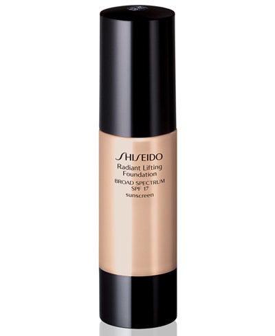 Shiseido Radiant Lifting Foundation Broad Spectrum SPF 17, 1 oz