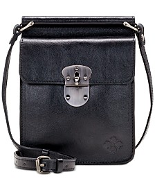 Patricia Nash Heritage Annecy Leather Crossbody