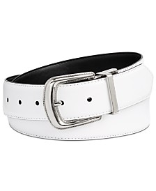 Calvin Klein Leather Reversible Western Belt