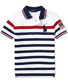 74cb2959e9a8 Polo Ralph Lauren Toddler Boys Striped Cotton Mesh Polo Shirt