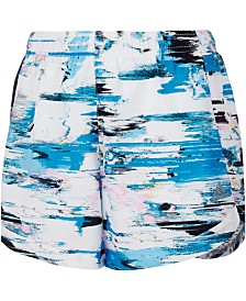 adidas Little Girls Printed Training Shorts