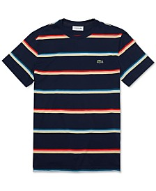 Lacoste Men's Striped Pima T-Shirt